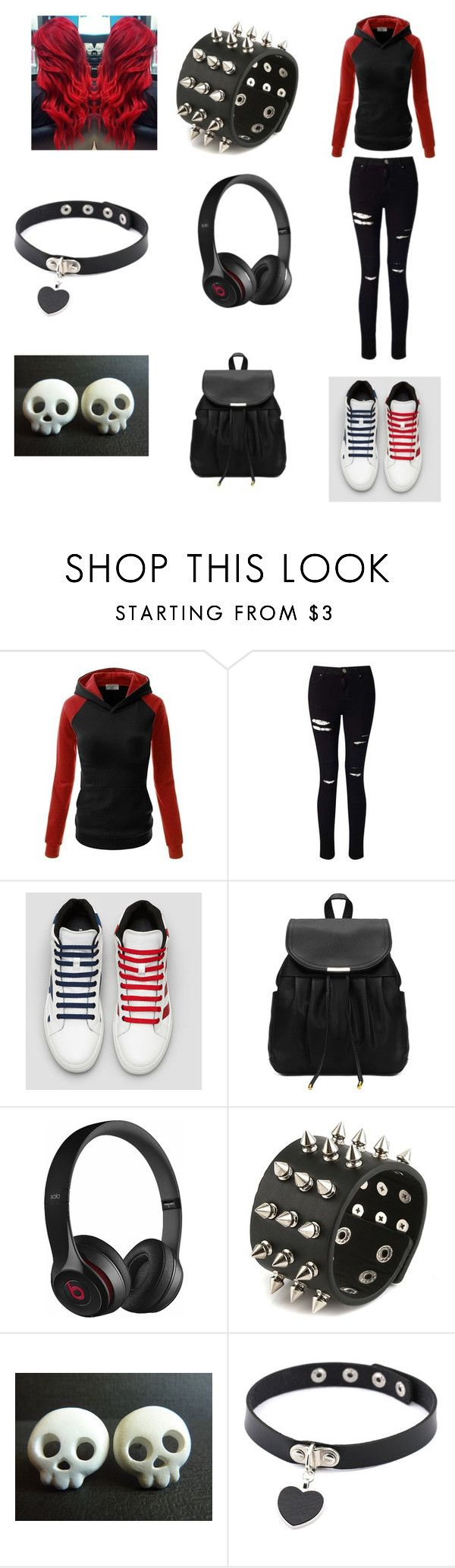 """outfit #8"" by katerinaxen on Polyvore featuring Miss Selfridge and Beats by Dr. Dre"