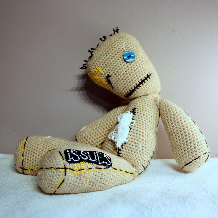 Amigurumi Korn Issues  #amigurumi #amigurumis #korn #issues #man #bear #szydełkowy #crochet #crocheting