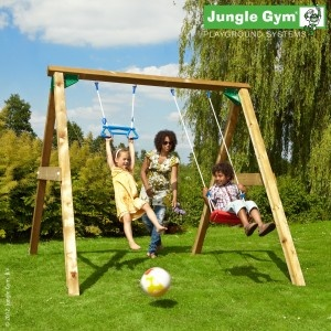 A favourite garden swing providing all-round exercise in addition to unbeatable enjoyment.