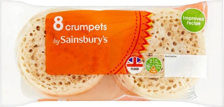 Sainsbury's Crumpets (8)
