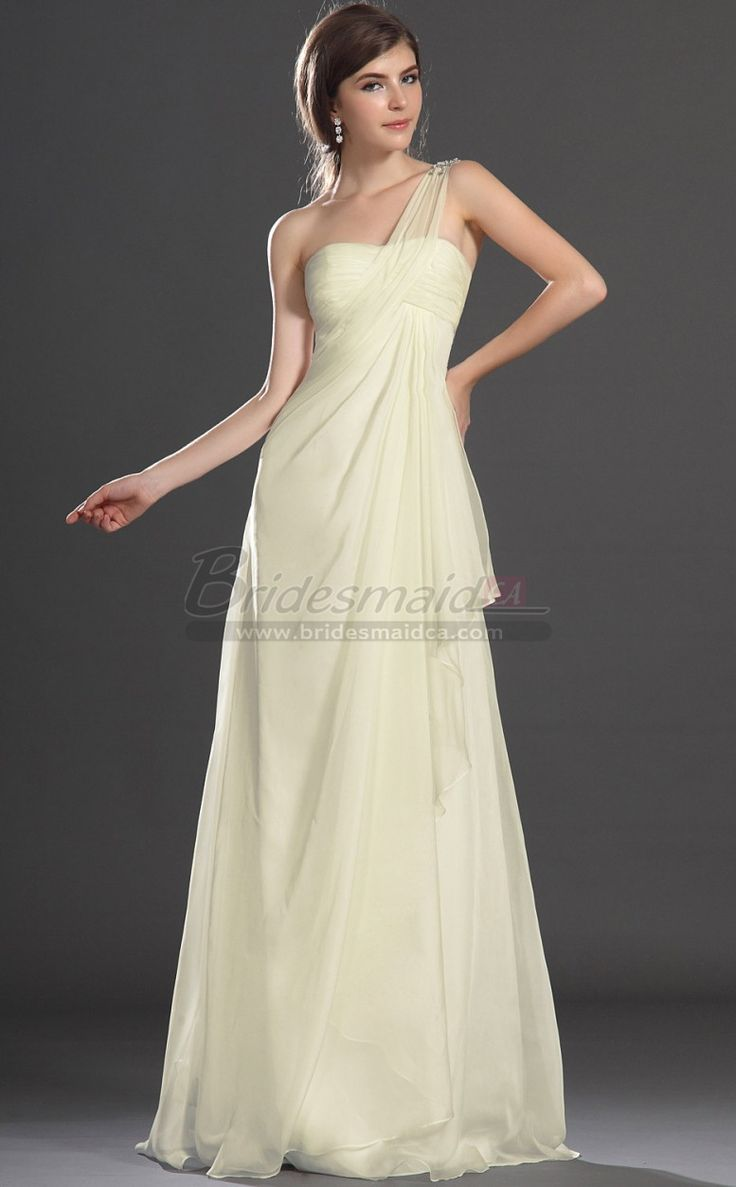 124 best bridesmaid dresses images on pinterest plus size ivory empire waist long silk like chiffon one shoulder bridesmaid dress jt ca1427 ombrellifo Image collections