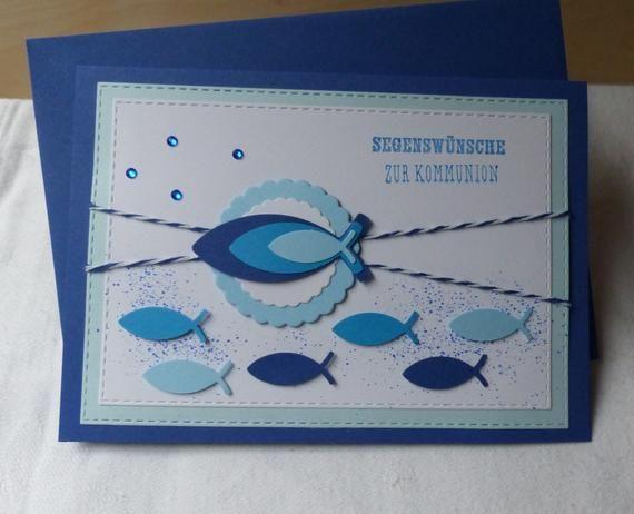 Glückwunschkarte zur Kommunion,Karte Kommunion,Kommunionskarte