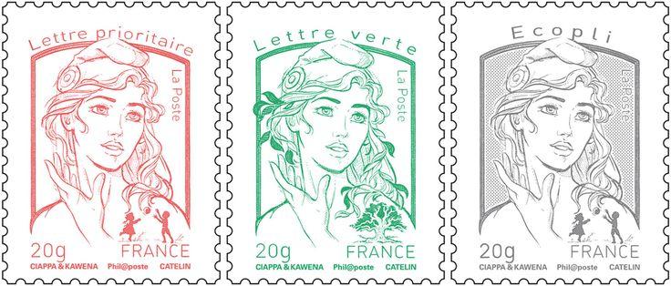 Tarifs postaux pour l'affranchissement du courrier