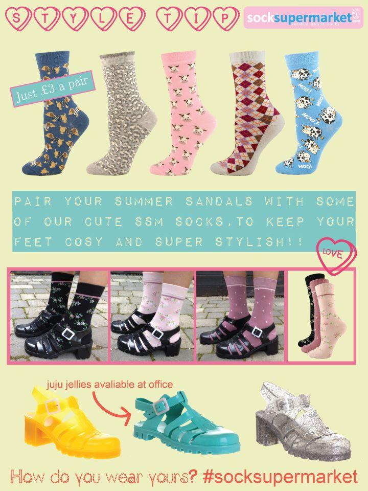 Juju jellies with socks