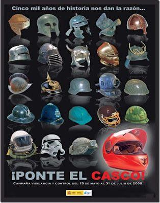 CAMPAÑA PONTE EL CASCO COMUNIDAD DE MADRID