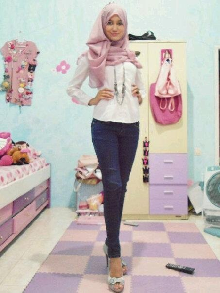Gorgeous! ❤ hijab style