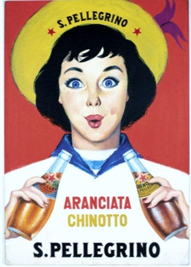 Vintage Italian Posters ~ #illustrator  #Italian #posters ~ old San Pellegrino advertising