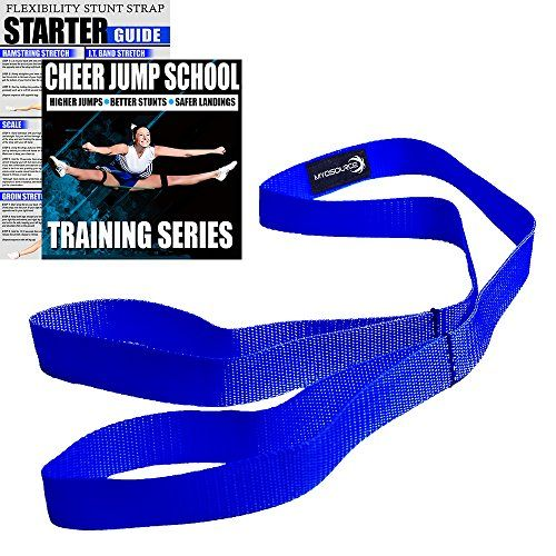 Cheerleading Flexibility Stunt Strap - Improve Stretching and Perfect Stunts. Great for Dancers and Gymnasts too! Digital Training Download and Starter Guide. Available in 7 Colors (Royal) #Cheerleading #Flexibility #Stunt #Strap #Improve #Stretching #Perfect #Stunts. #Great #Dancers #Gymnasts #too! #Digital #Training #Download #Starter #Guide. #Available #Colors #(Royal)