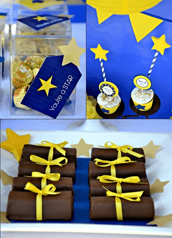 graduation party printables party ideas party supplies star party food partyware_580x803