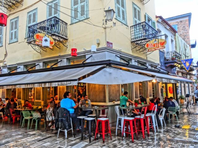Allotini Cafe bar, Nafplion, Greece