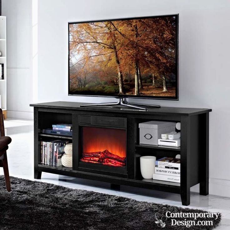 Fireplace Design tv stand with fireplace : The 25+ best Electric fireplace tv stand ideas on Pinterest ...