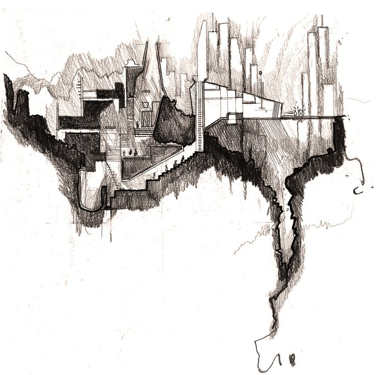 The Lair Jonathan Combley Section Drawing ArchitectureArchitecture SketchesArchitecture BoardArchitectural