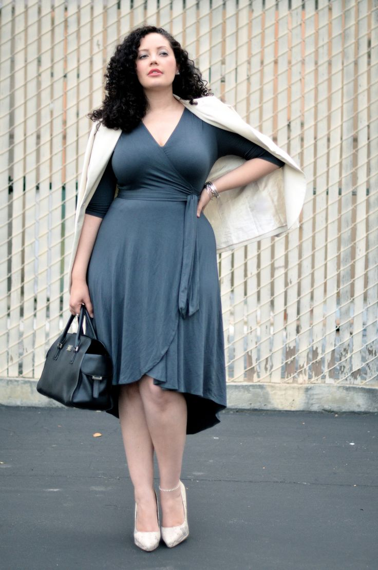 Girl With Curves: Wrap Dress