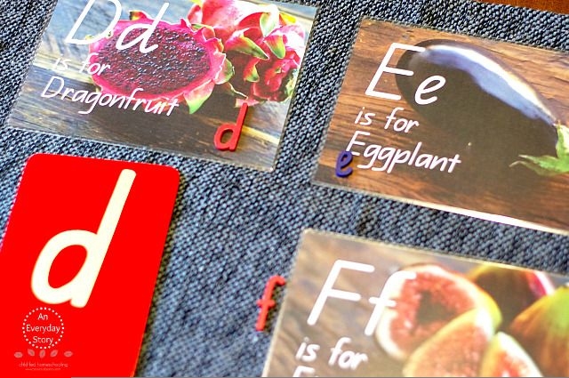 Alphabet Flashcards - An Everyday Story #literacy #earlychildhood #teachersresources #flashcards