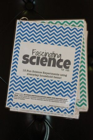 Gift Idea: Science Kit for Kids (with free printables
