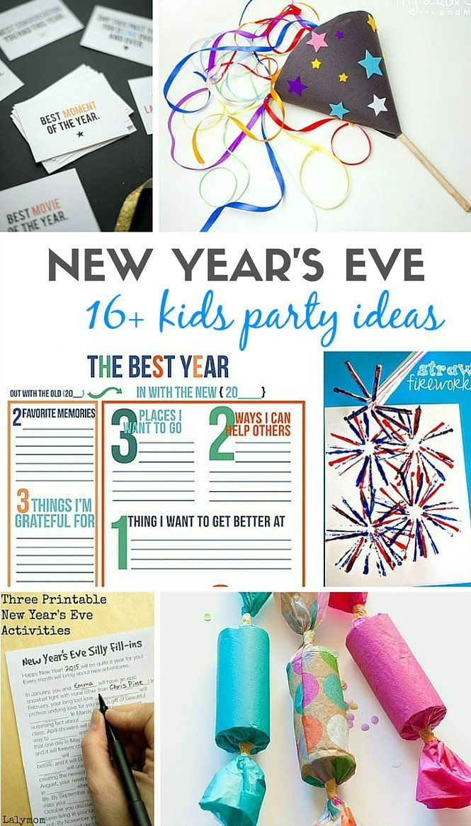 Kids party games amp activities new year s pinterest kid parties