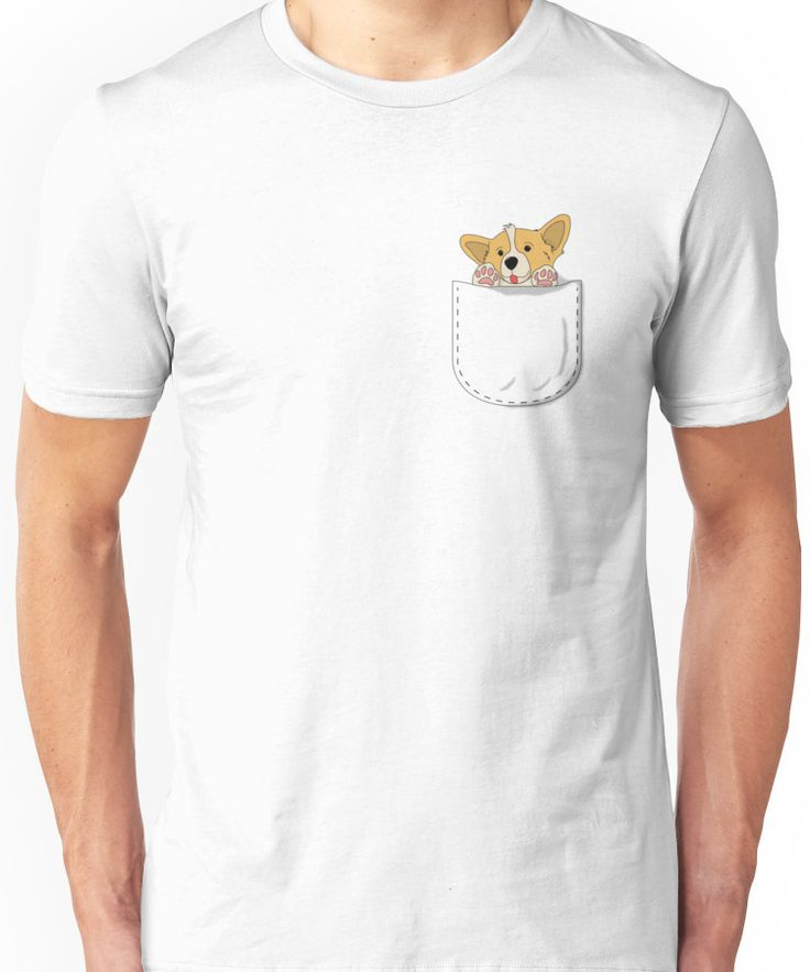 Pocket Corgi Pup Unisex T-Shirt