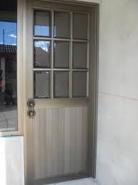 Resultado de imagen para puertas de aluminio