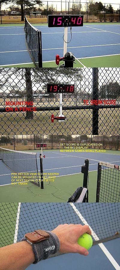 Other Tennis 2917: Digital Tennis Score Keeper, Wireless Remote Control, Scoreboard -> BUY IT NOW ONLY: $130 on eBay!