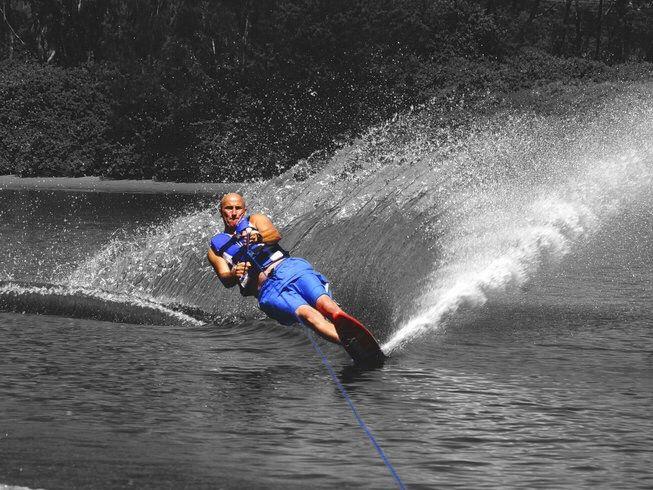 Water Skiing, Water Ski, Lake, Phiinom