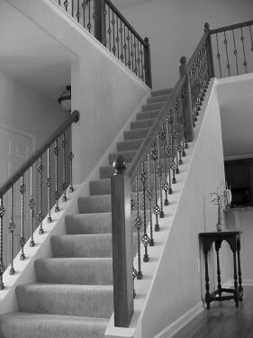 Best 21 Best Wood Stair With Ironwork Images On Pinterest 400 x 300