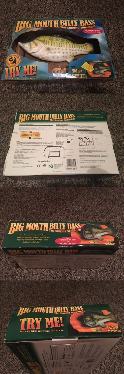 Novelties and Gifts 62143: 1998 Original Big Mouth Billy Bass Singing Fish Motion Activated Wall Plaque -> BUY IT NOW ONLY: $75 on eBay!