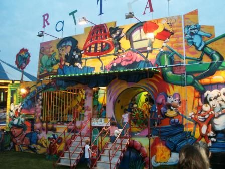 Carnival Rides House Fun House And Dark Rides