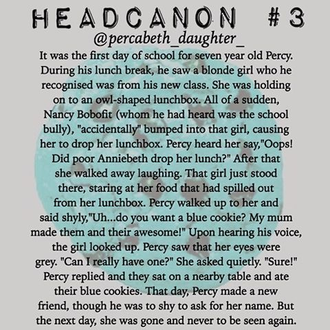 Image result for percabeth headcanons
