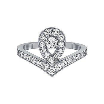 ジョゼフィーヌ エグレット - CHAUMET(ショーメ)の婚約指輪(エンゲージメントリング)ショーメの婚約指輪・エンゲージリングを集めました!