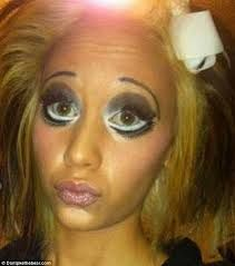 Image result for worst makeup fails ever