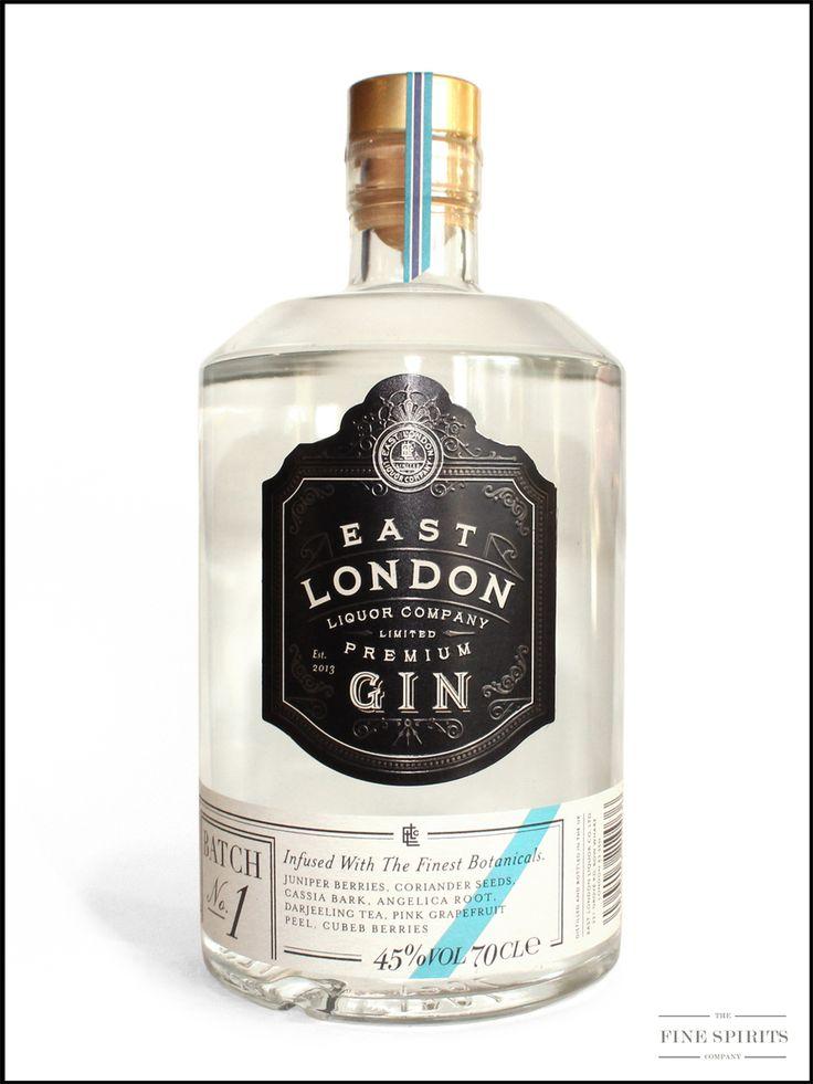 East London Liquor Company Premium Batch Gin 1 - os