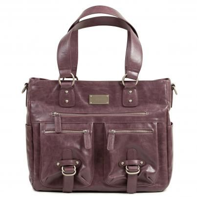 I admit that I'm not into purses, but I think I want this.  It's a camera/laptop bag!