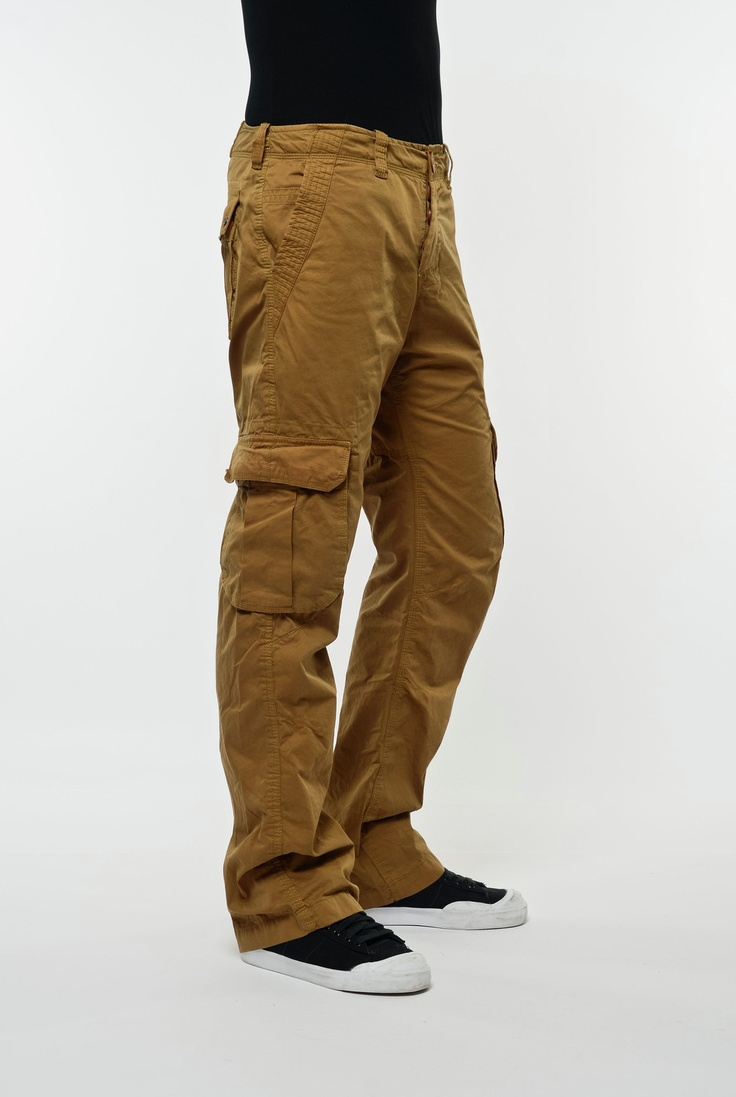 Superdry Trousers CORE LITE MILITARY DUL - Vimodos