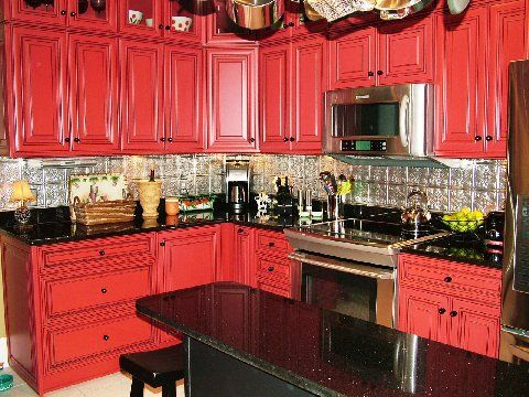 kitchen with red cabinets 50 best my new kitchen images on kitchen 6546