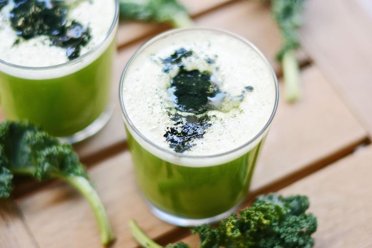 Grønnkål og Chlorella Juice – Oppskrift – Soma.no