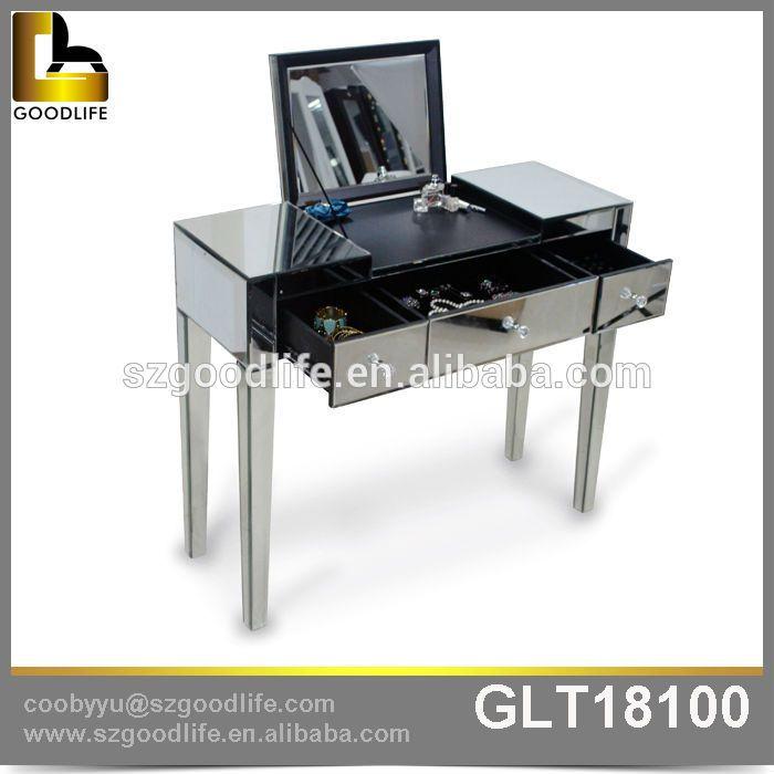 home organizzazione di stoccaggio trucco moderno comò con specchio-immagine-Cassettone-Id prodotto:1974485839-italian.alibaba.com