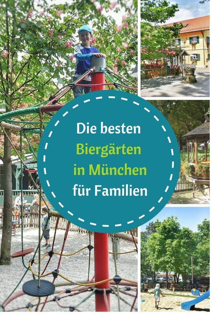Beer garden in Munich with playground for children – beer gardens Munich
