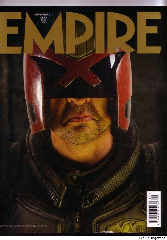 New Judge Dredd movie image