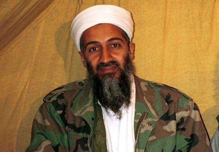 Osama bin Laden, leider van Al-Qaeda, in Afghanistan. Wanneer de foto is gemaakt, is niet bekend.