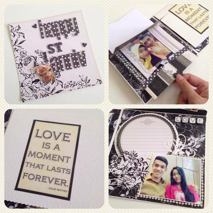 Great way to display couple's photo #handmadegift #scrapbook #greetingcards #papercraft #giftideas