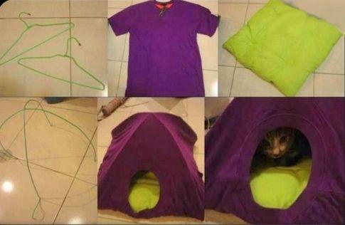 riciclare magliette