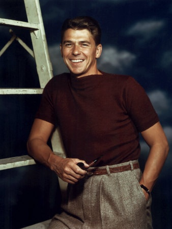 Ronald Reagan in the 1940's