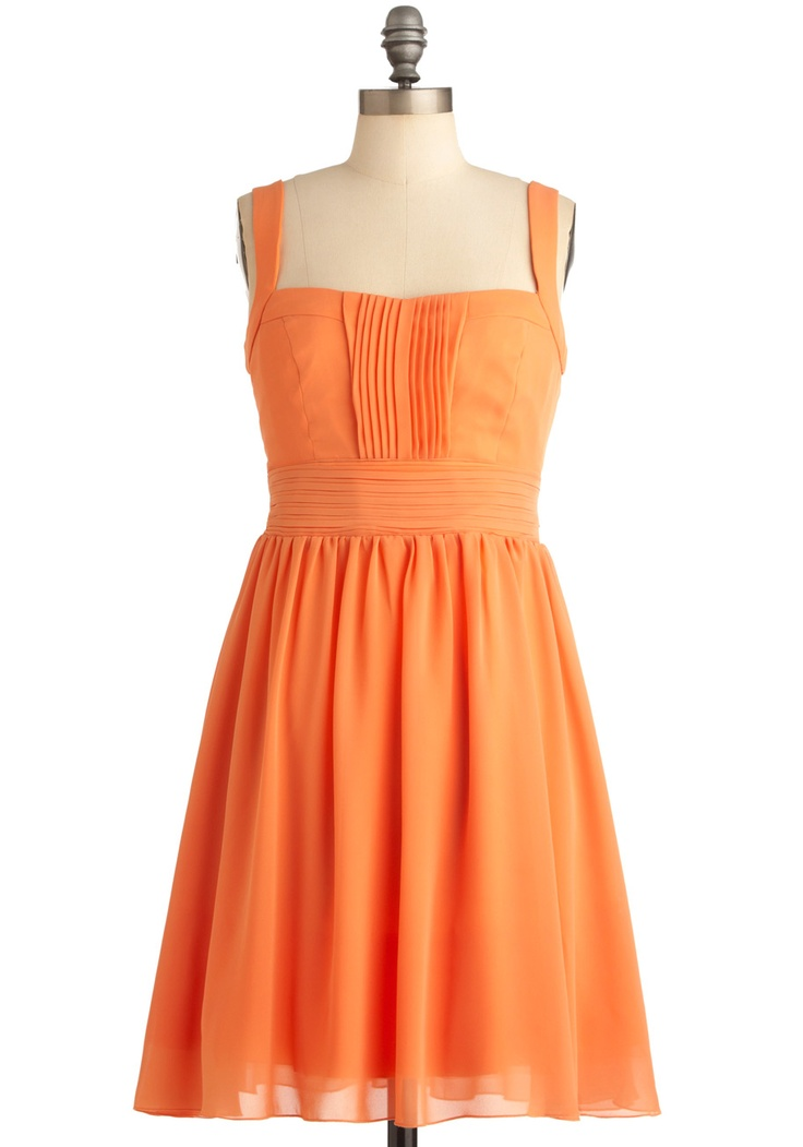love this orange! why is modcloth so awesome?
