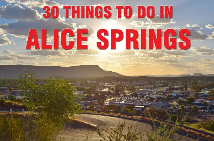 Alice Springs | Holiday Road