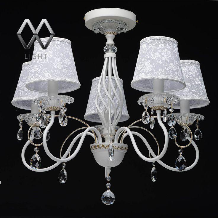 Люстра MW-LIGHT Августина 419010805 купить по цене 15 070 руб. в интернет-магазине Лампочка.орг