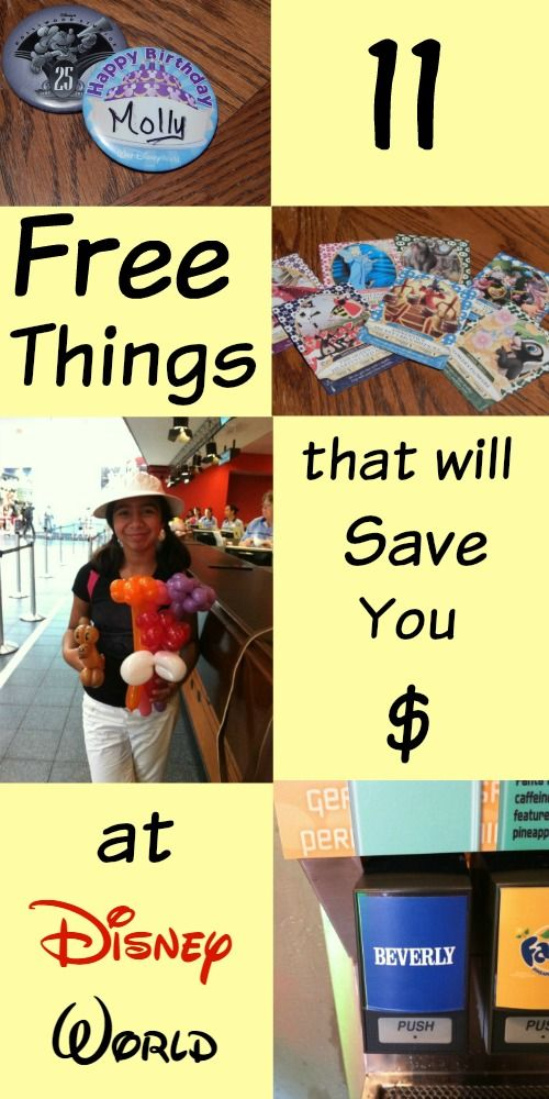 An easy list of 11 Walt Disney World freebies to help you cut costs and keep money in your pocket on your next visit to the most magical place on earth.