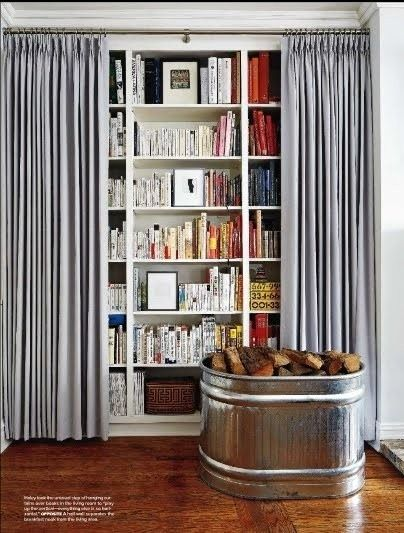 Open Wall Shelving Unit