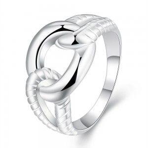 venta anillos de bodas de plata de la princesa más nuevos calientes R697-8