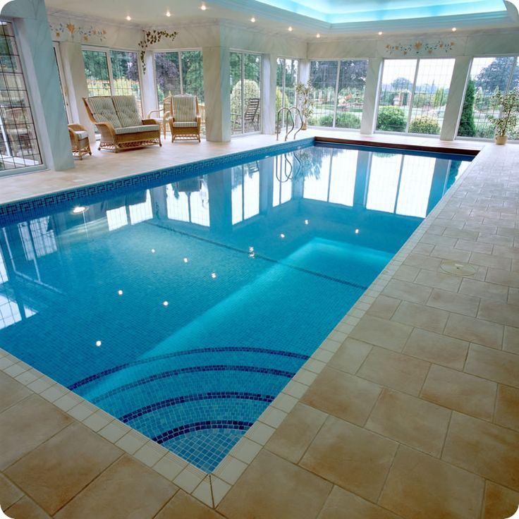 25 best ideas about indoor pools on pinterest inside for Interior swimming pool