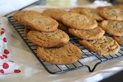 Délicieux cookies au caramel au beurre salé http://www.caramelaubeurresale.net/recette-cookies-caramel/